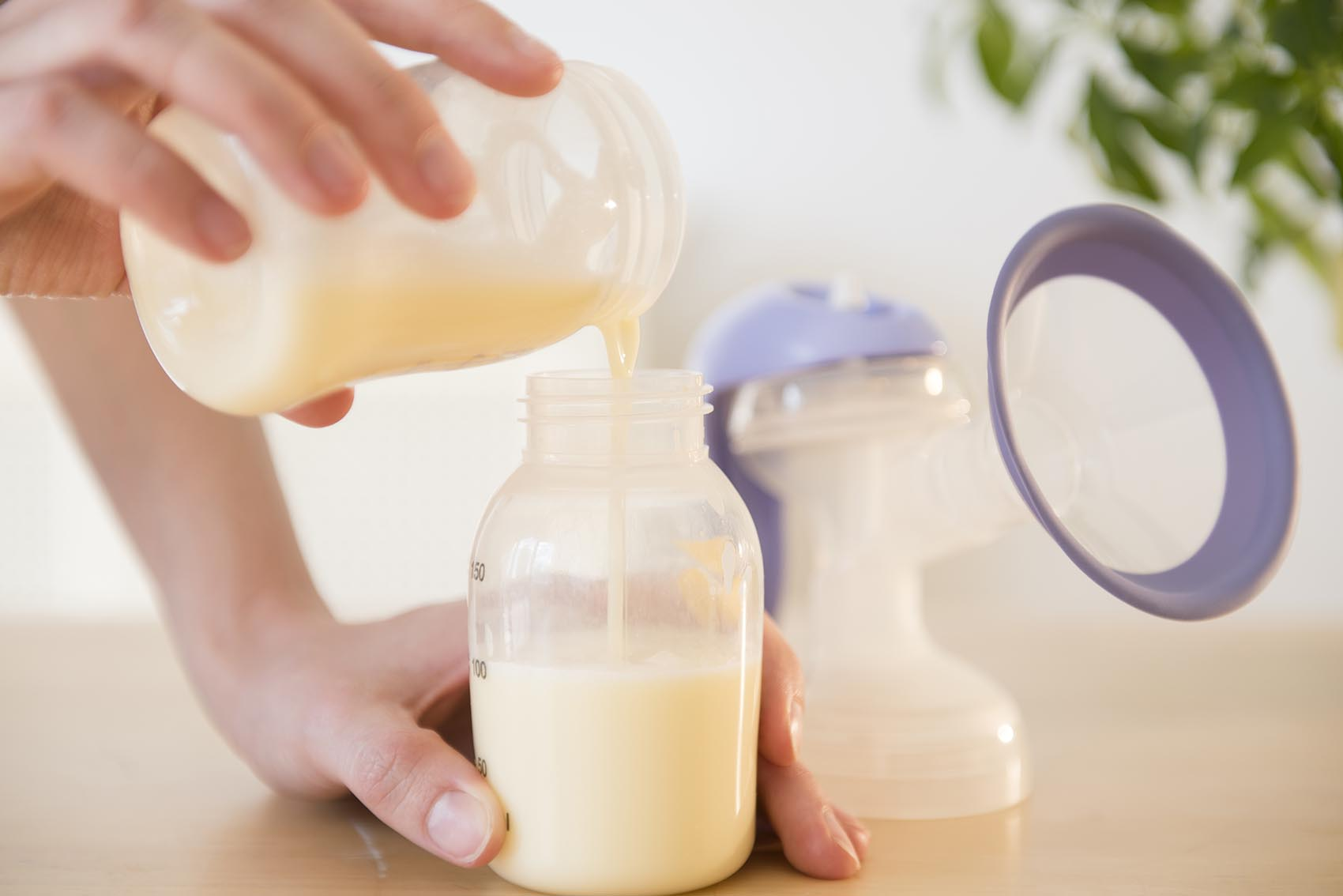 Muttermilch abpumpen & richtig aufbewahren